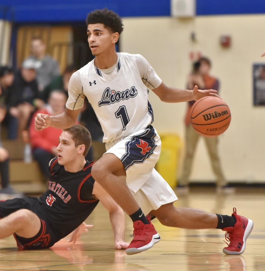 Back from injury, St. Viator's Treyvon Calvin helps solidify the Lions' chances in the Class 3A Grayslake Central sectional, where they are the top seed.
