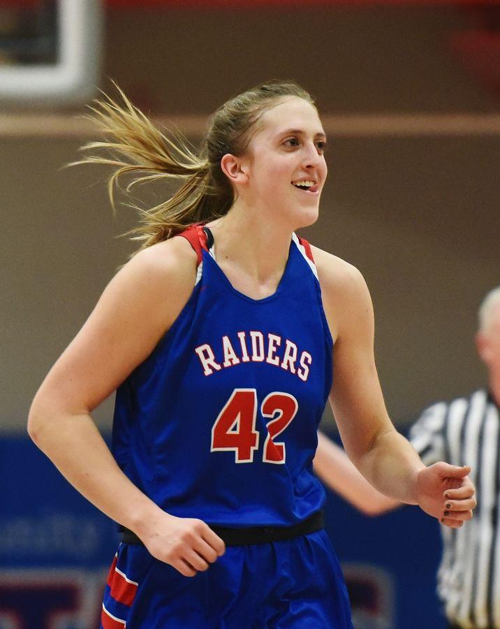 Glenbard South's Maggie Bair is the DuPage County Female Athlete of the Year.
