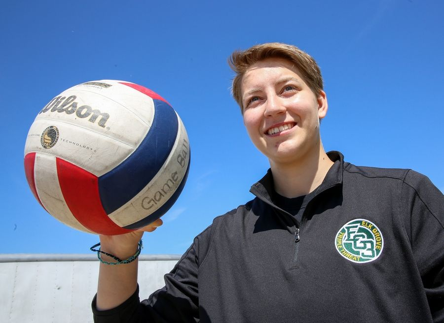 Rachel Kandefer of Elk Grove is the Daily Herald Northwest Suburbs' Female Athlete of the Year. She will play volleyball at Harper College.