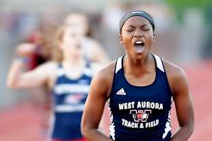 Two-time Class 3A state champion Dajour Miles from West Aurora is this year's Fox Valley Female Athlete of the Year.