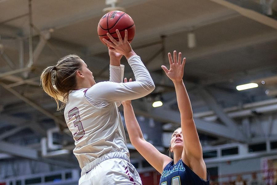 Hampshire graduate Emma Benoit is averaging 11.8 points a game at the University of Indianapolis.