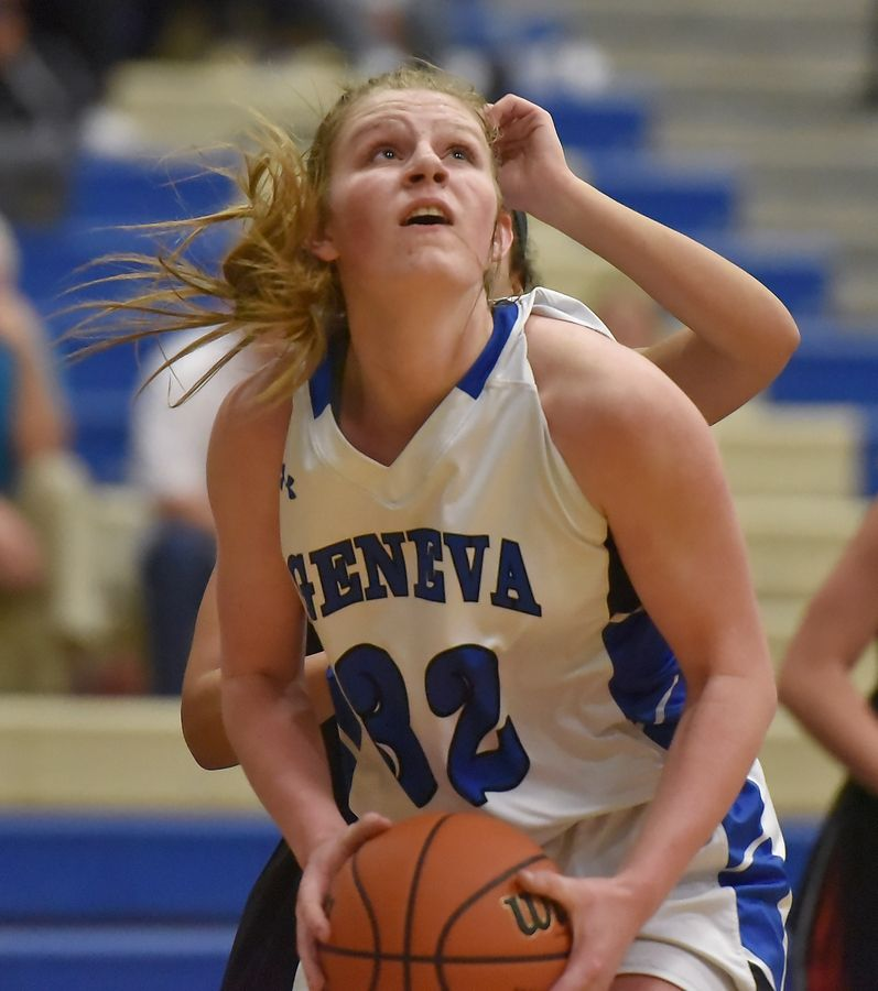After helping Geneva win two state championships off the bench as a freshman and sophomore, Lindsay Blackmore has been a force offensively the past two seasons.