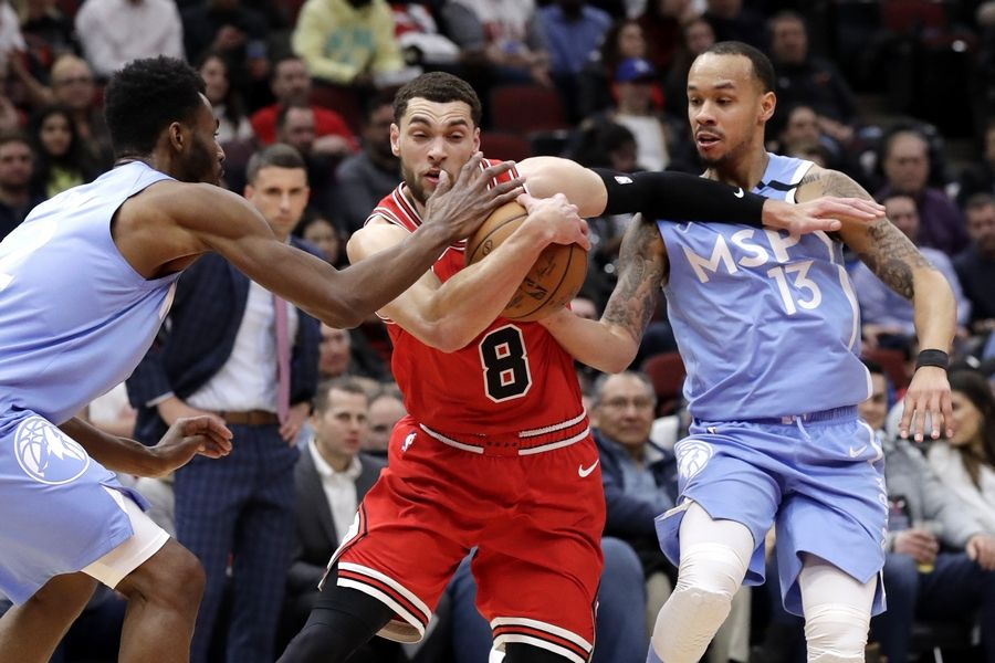 Backup centers step forward as Chicago Bulls beat Minnesota