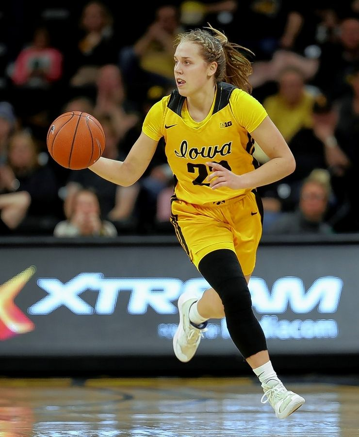 Benet graduate Kathleen Doyle was named third-team All-America this season for Iowa.