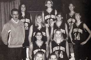 The Buffalo Grove 2000 girls basketball team that won the Class AA state championship.