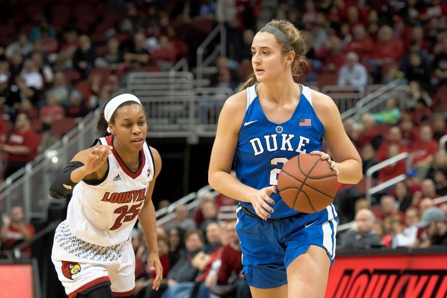 Fremd graduate Haley Gorecki, who just completed her career at Duke, was selected by Seattle in the WNBA Draft.