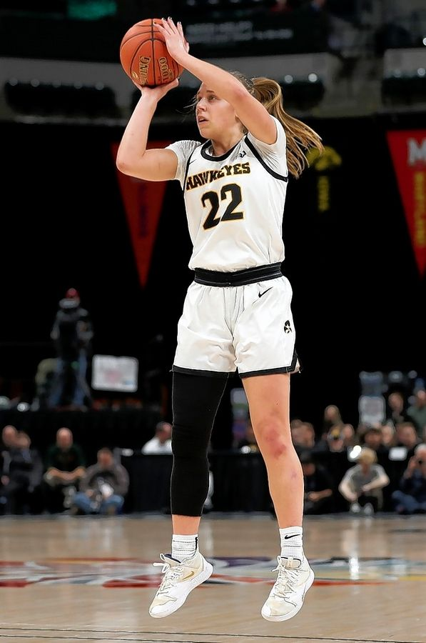 Benet graduate Kathleen Doyle, the Big Ten Player of the Year at Iowa, was chosen by the Indiana Fever in the WNBA Draft.