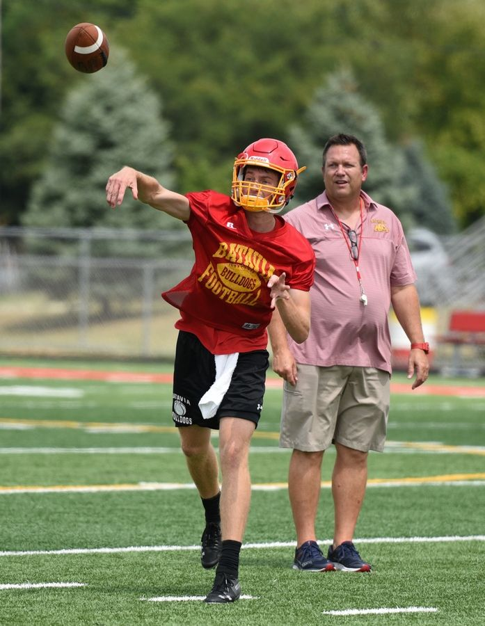 Batavia football coach Dennis Piron is a member of the IHSA's Sports Medicine Advisory Committee.