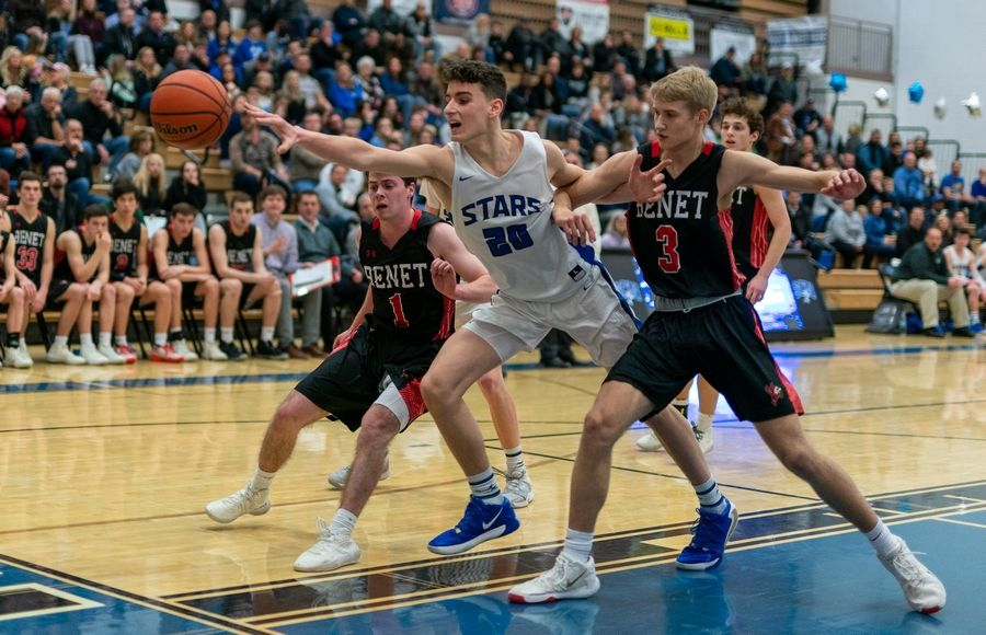 While St. Charles North graduated its entire lineup, Ethan Marlowe saw key minutes off the bench last season and will be one of the North Stars' go-to players this year.