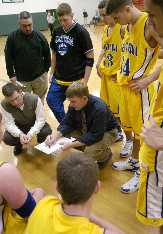 Nate Drye announced this week he is stepping down after 17 seasons as the varsity boys basketball coach at Aurora Central Catholic.